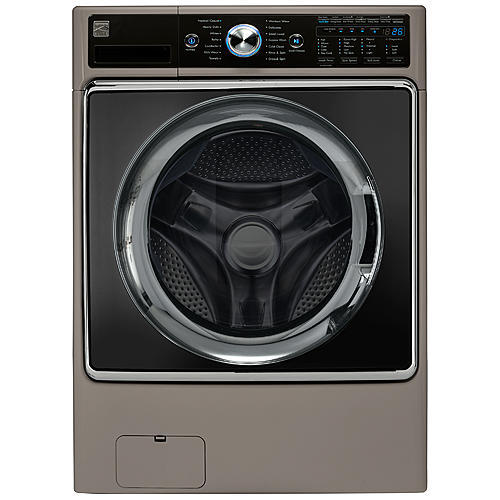Kenmore Elite 41963, 5.2 cu. ft. Front-Load Washer - Metallic Silver