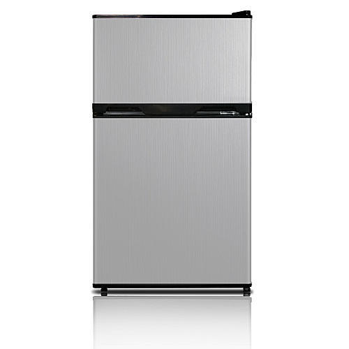 Kenmore 3.1 cu ft. 2-Door Compact Refrigerator - Stainless Steel
