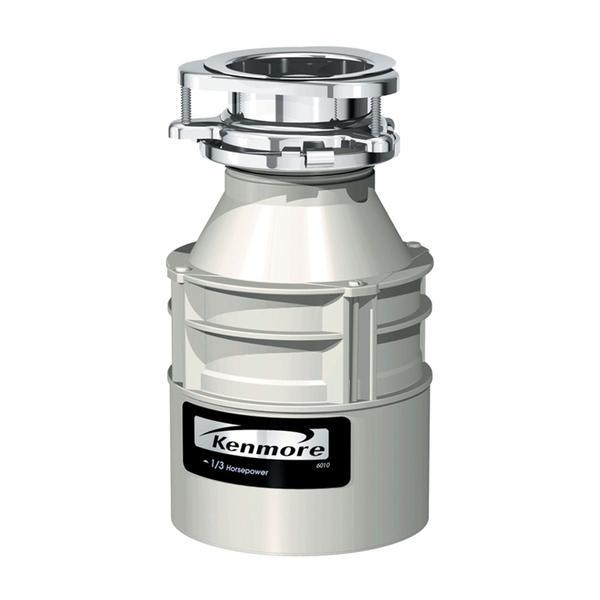 Kenmore 1/3 hp Food Waste Disposer