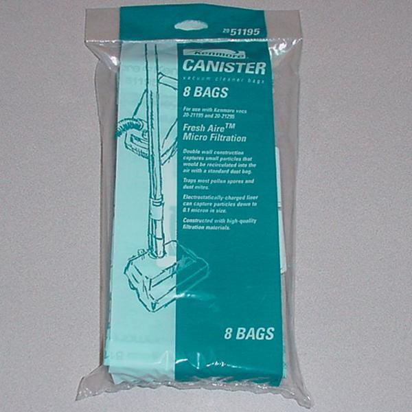Kenmore 8 Fresh Air™ Micro-Filtration Vacuum Replacement Bags