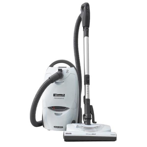 kenmore progressive canister vacuum with telescopic wand blue moon white - Panasonic Canister Vacuum