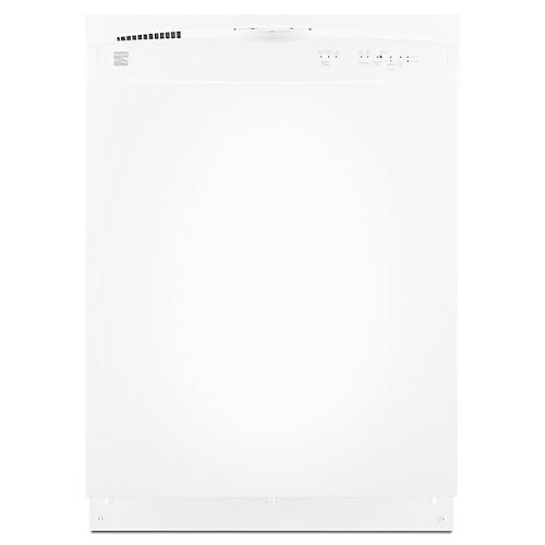 "Kenmore 15112 24"" Built-In Dishwasher - White"