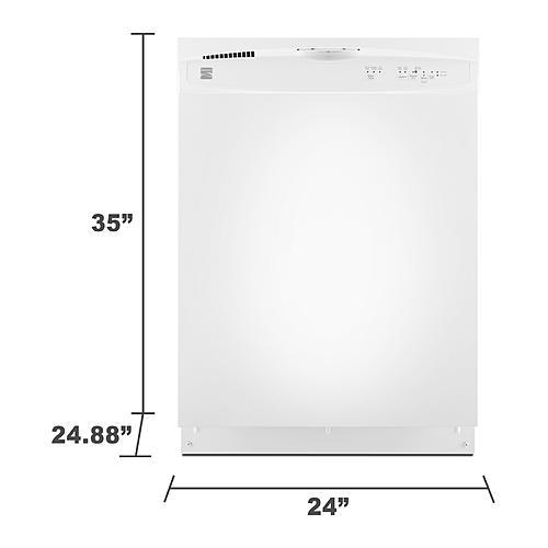 kenmore dishwasher white. kenmore dishwasher white n