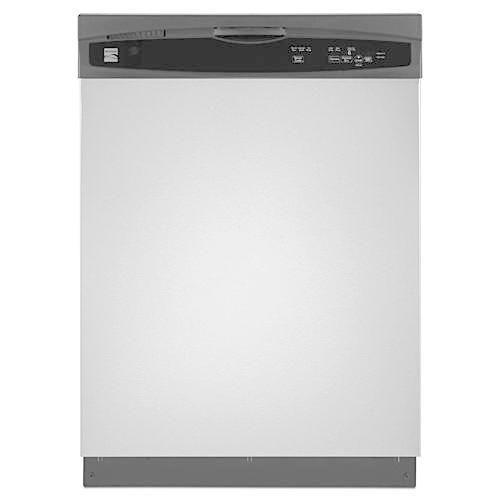 "Kenmore 13003 24"" Built-In Dishwasher - Stainless Steel"