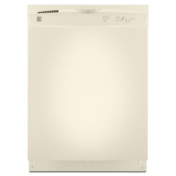 "Kenmore 24"" Built-In Dishwasher - Bisque"