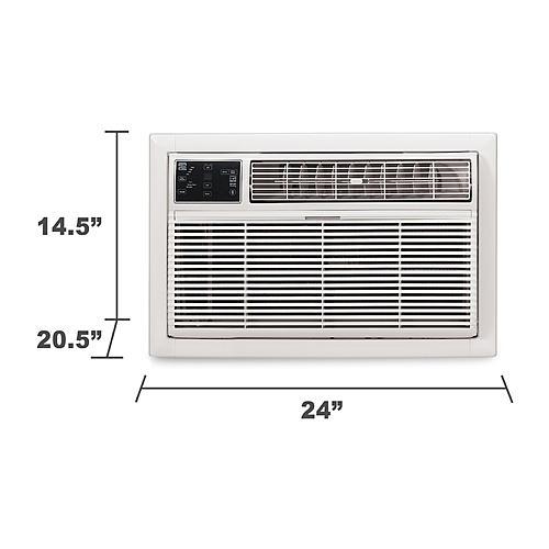 kenmore air conditioner. kenmore elite 76085 8 000-btu 115v through-the-wall air conditioner