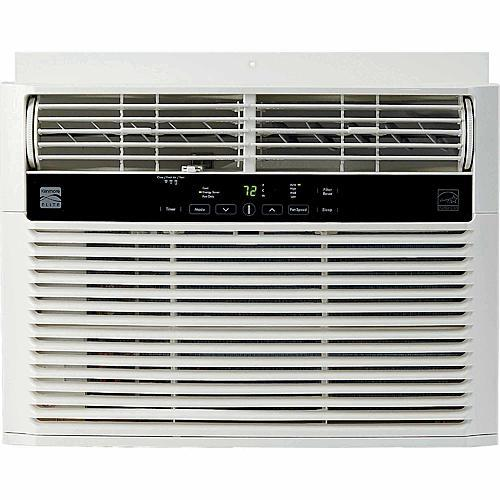 Kenmore 76110 10 000 BTU 115V Window-Mounted Mini-Compact Air Conditioner - White