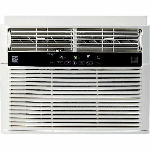 Kenmore Elite 76080 8000 BTU 115V Window-Mounted Mini-Compact Air Conditioner - White