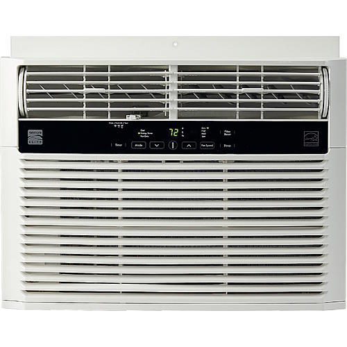 Kenmore Elite 76120 12000 BTU 115V Window-Mounted Mini-Compact Air Conditioner - White