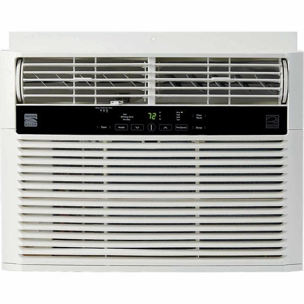 Kenmore Elite 76060 6000 BTU 115V Window-Mounted Mini-Compact Air Conditioner - White