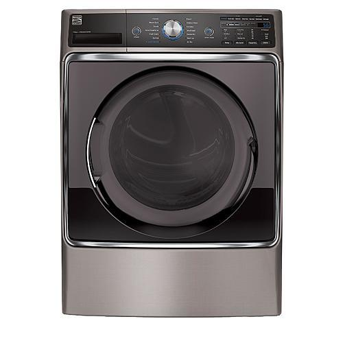 Kenmore Elite 81073 9.0 cu. ft. Electric Dryer - Metallic Silver