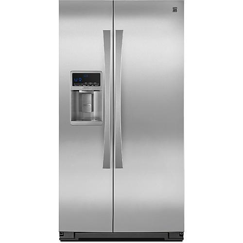 Kenmore Elite 51713 23.1 cu. ft. Side-by-Side Refrigerator w/ SmartSense™ - Stainless Steel