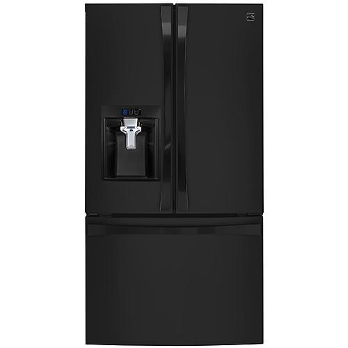 Kenmore Elite 74049 23.7 cu.ft. Counter-Depth French Door Bottom-Freezer Refrigerator