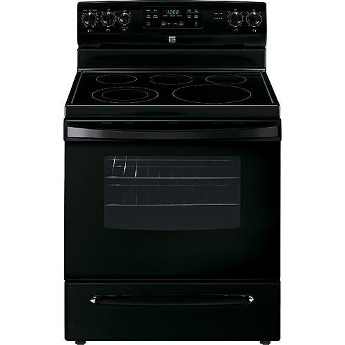 Kenmore 94189 5.4 cu. ft. Electric Range - Black