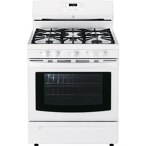 Kenmore 74132 5.0 cu. ft. Freestanding Gas Range w/ Variable Self-Clean - White