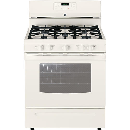 Kenmore 74134 5.0 cu. ft. Freestanding Gas Range  w/Variable Self-Clean - Bisque