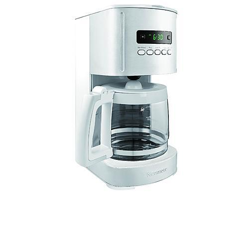 Kenmore White 12 Cup Programmable Coffee Maker