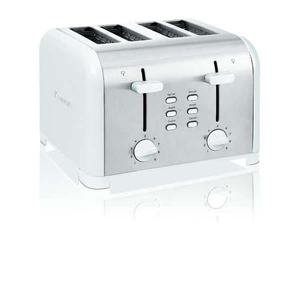 Kenmore Four-Slice White Toaster