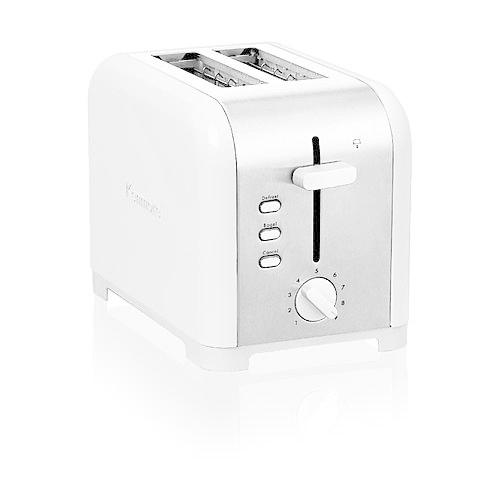 Kenmore White Adjustable Two-Slice Toaster