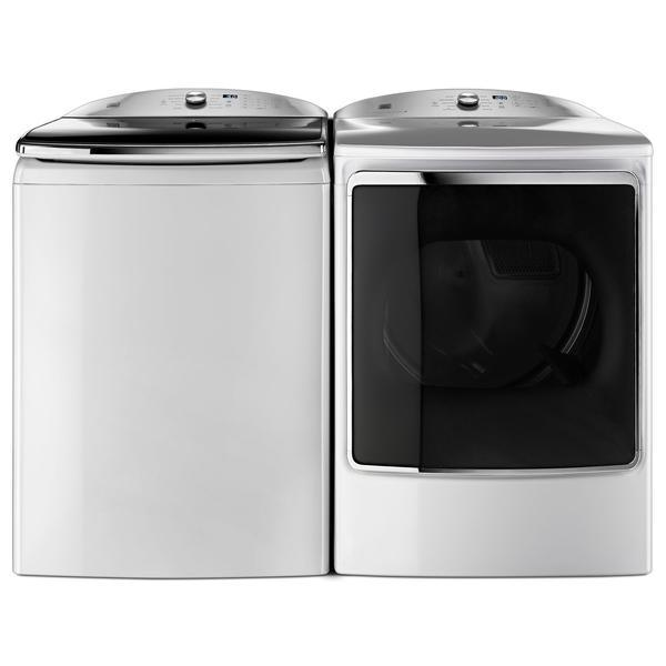 Kenmore Elite 6.2 cu. ft. Top-Load Washer w/ Quad Action Impeller & 9.2 cu. ft. Dryer - White