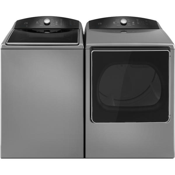 Kenmore 5.3 cu. ft. Top-Load Washer w/ a Triple Action Impeller & 8.8 cu. ft. Dryer - Metallic