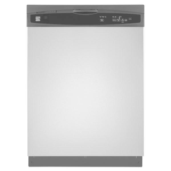 "Kenmore 15113 24"" Built-In Dishwasher - Stainless Steel"