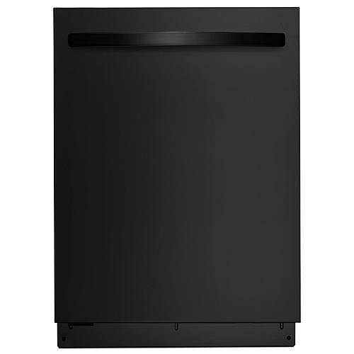 "Kenmore 13699 24"" Built-In Dishwasher w/ PowerWave™ Spray Arm & TurboZone™ Option - Black"