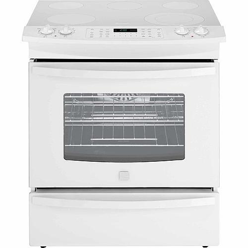 Kenmore 42542 4.6 cu. ft. Slide-In Electric Range - White