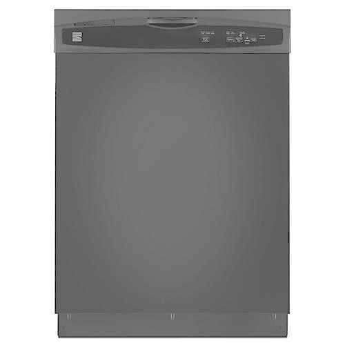 "Kenmore 15119 24"" Built-In Dishwasher - Black"