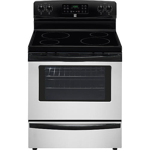 Kenmore 94053 5.4 cu. ft. Electric Range w/ Convection Oven - Stainless Steel