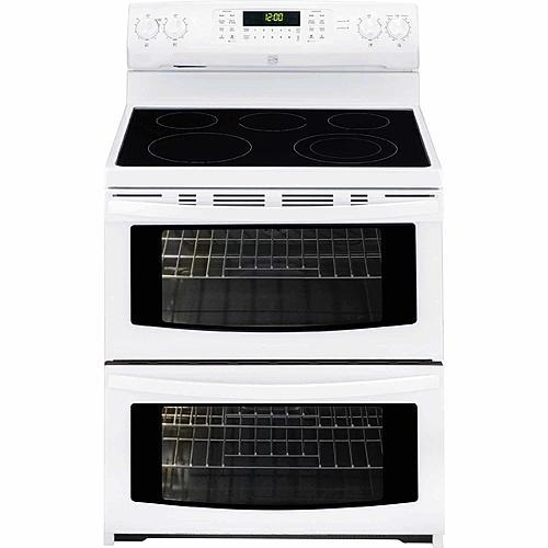 doubleoven electric range w convection white
