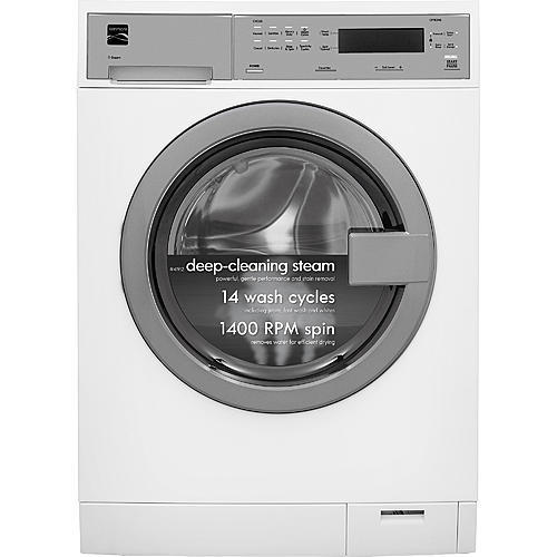 Kenmore 41912 2.4 cu. ft. Compact Front-Load Washer w/ Steam Technology - White