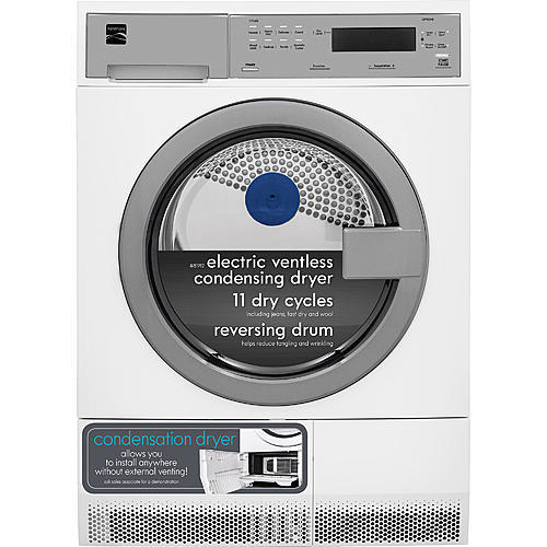 Kenmore 81912 4.0 cu. ft. Compact Front-Load Electric Condensing Dryer - White
