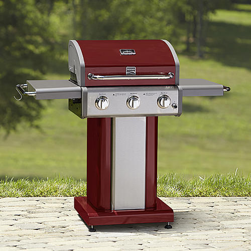 Kenmore 3 Burner Red Patio Grill *Limited Availability*