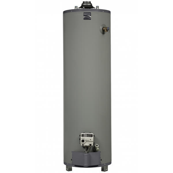 Kenmore 55950 50 gal. 9-Year Tall Natural Gas Ultra Low NOx Water Heater (Select California Markets)