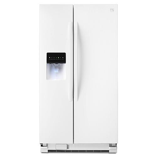 Kenmore 51122 25  cu. ft. Side-by-Side Refrigerator - White