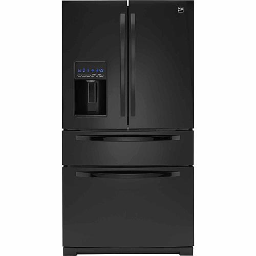 Kenmore 72389 26.2 cu. ft. French Door Refrigerator w/ Fresh Storage Drawer - Black