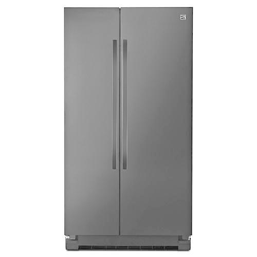 Kenmore 41159 25 cu. ft. Side-by-Side Refrigerator - Black