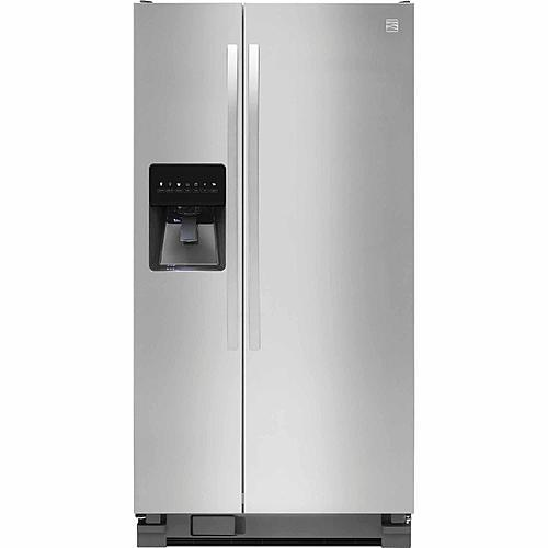 Kenmore 51793 21 cu. ft. Side-by-Side Refrigerator - Stainless Steel