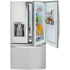 kenmore 51833. kenmore elite 74053 23.5 cu. ft. counter-depth bottom-freezer refrigerator 51833