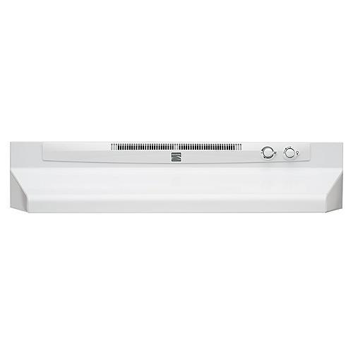 "Kenmore 52052 30"" Convertible Range Hood - White"
