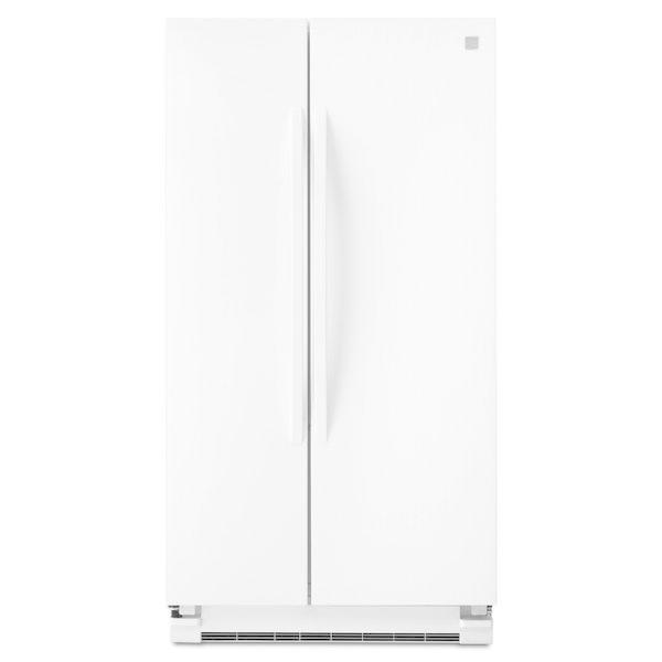 Kenmore 41152 25 cu. ft. Side-by-Side Refrigerator - White