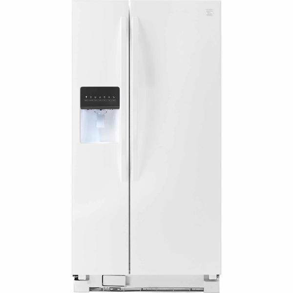 Kenmore 51792 21 cu. ft. Side-by-Side Refrigerator - White