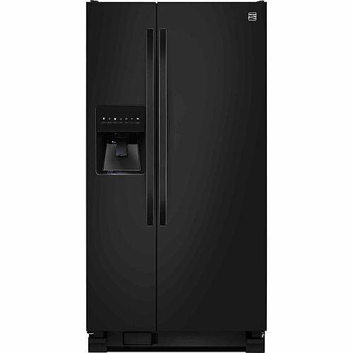 Kenmore 51799 21 cu. ft. Side-by-Side Refrigerator - Black