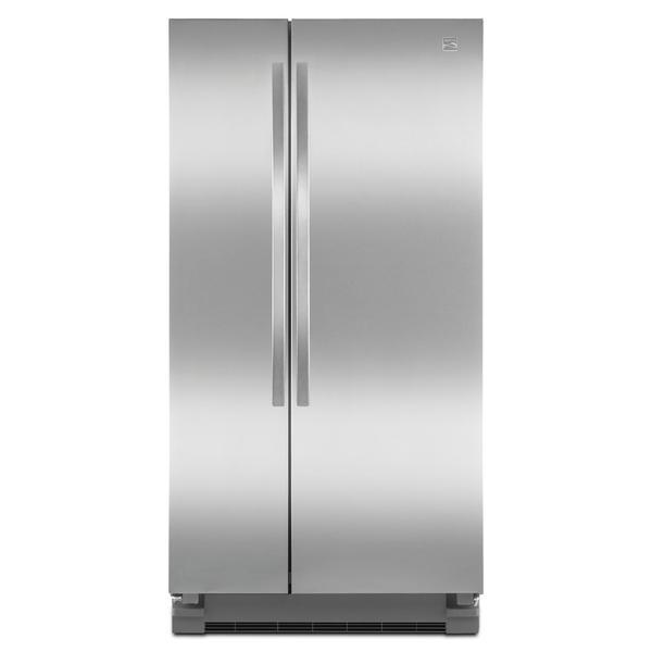 Kenmore 41123 21.5 cu. ft. Side-by-Side Refrigerator - Stainless Steel