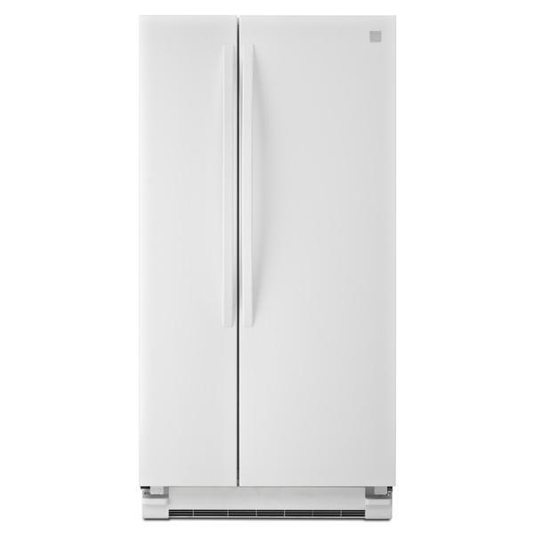 Kenmore 41122 21.5 cu. ft. Side-by-Side Refrigerator - White