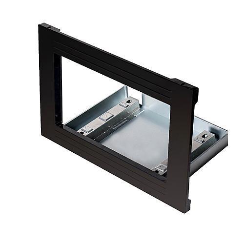 "Kenmore Elite 24309 30"" Countertop Microwave Trim Kit - Black"