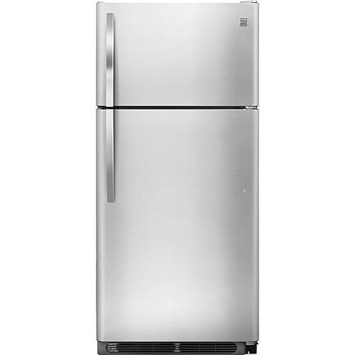 Kenmore 60603 18 cu. ft. Top Freezer Refrigerator - Stainless Steel