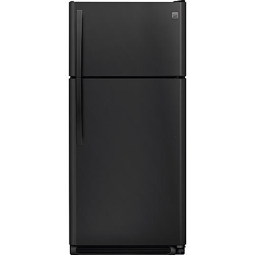 Kenmore 60609 18 cu. ft. Top Freezer Refrigerator - Black