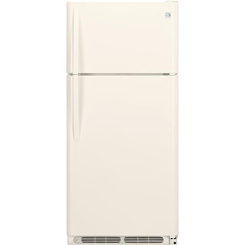 Kenmore 60604 18 cu. ft. Top Freezer Refrigerator - Bisque